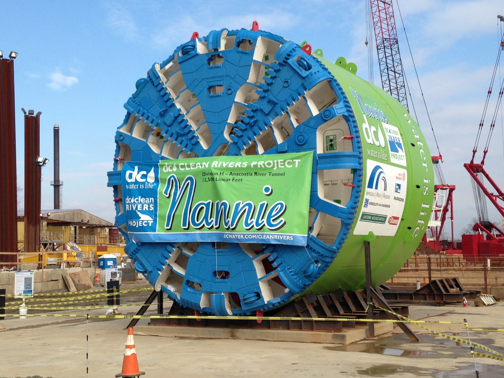 D.C. Water unveils machine to help clean-up Anacostia River