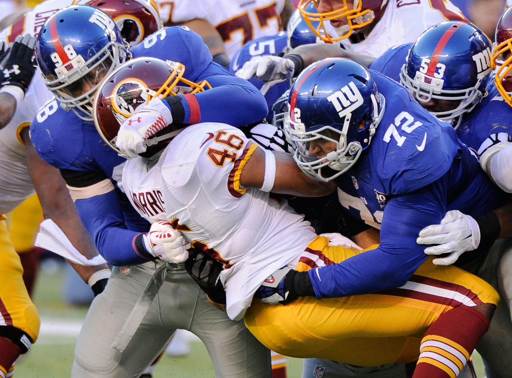 NFL Recap: Redskins hit rock bottom