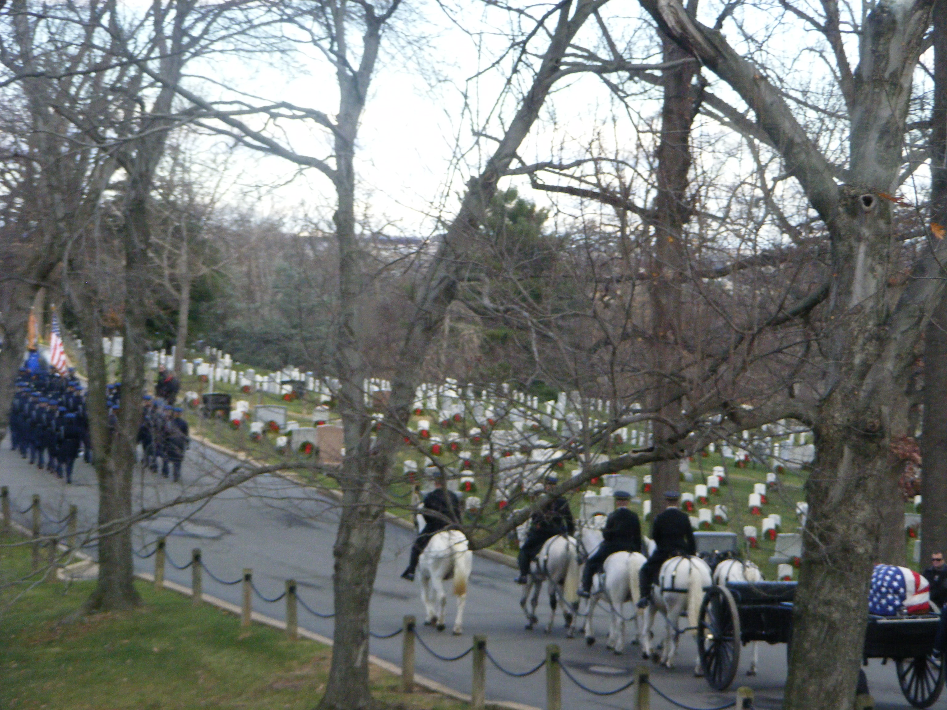 The funeral of Don Sheda