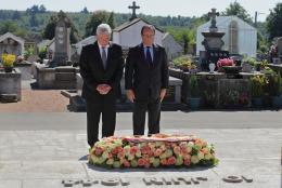 Joachim Gauck, Francois Hollande