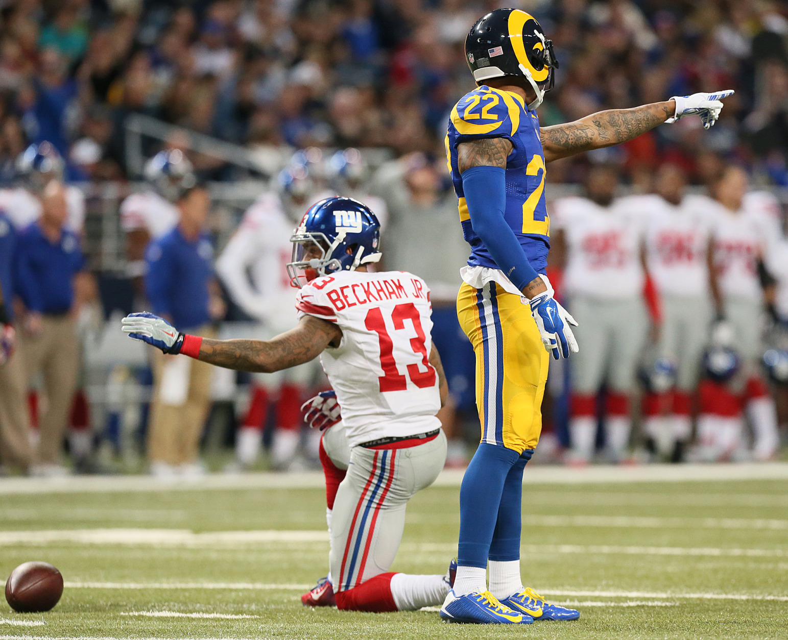 6 Giants fined by NFL for actions in Rams game