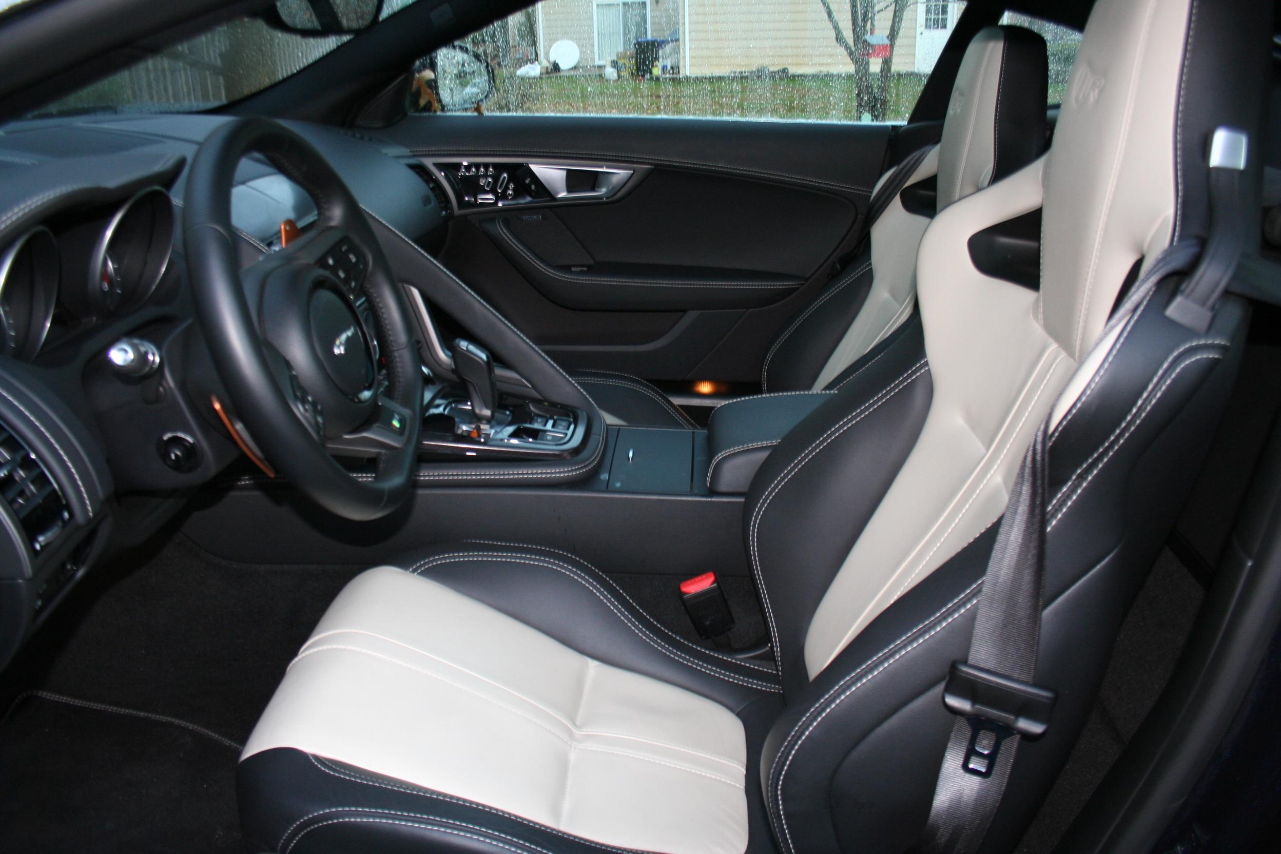 The 2015 Jaguar F-Type R Coupe