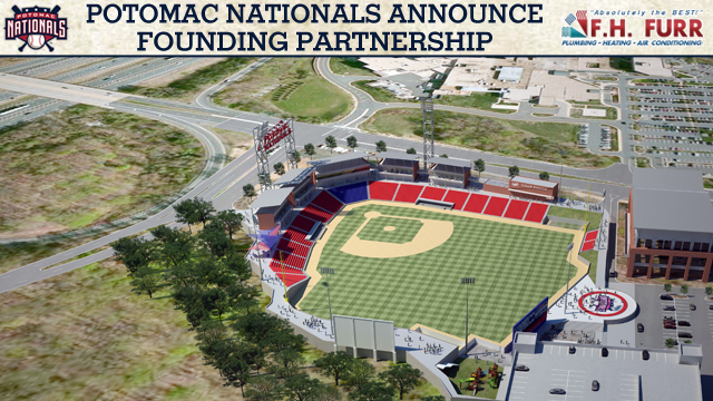 Potomac Nationals Announce Partnership Ahead Of Stadium