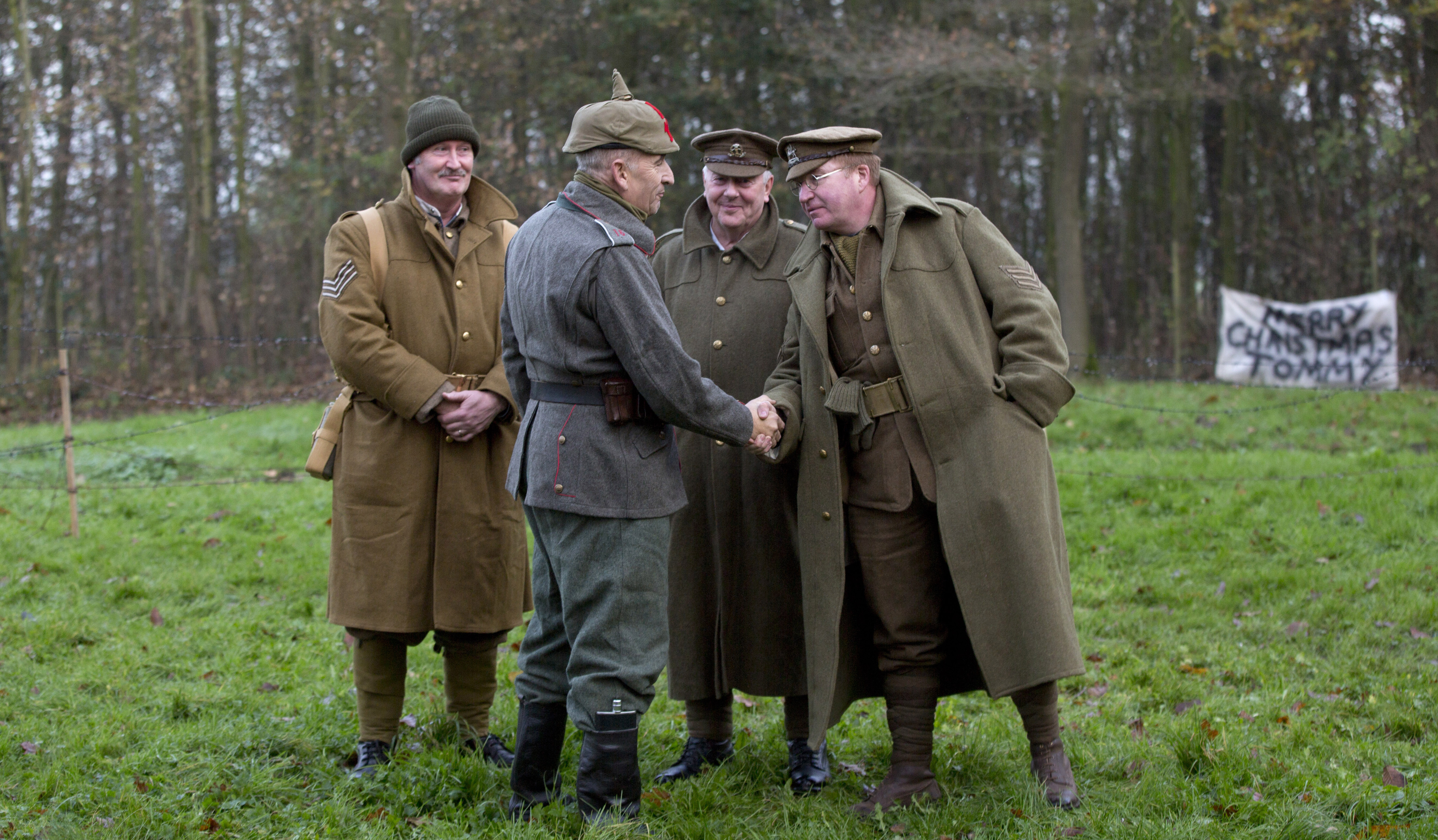 Soldier's WWI letter recalls Christmas Day truce marked with cigars, jam