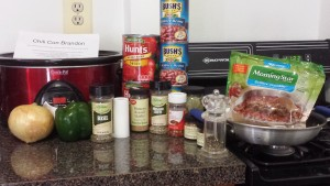 Brandons Chili Ingredients