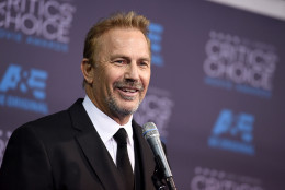 Kevin Costner, winner of the lifetime achievement award, speaks in the press room at the 20th annual Critics' Choice Movie Awards at the Hollywood Palladium on Thursday, Jan. 15, 2015, in Los Angeles. (Photo by Jordan Strauss/Invision/AP)