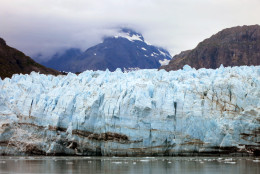 This July 30, 2014 photo shows Margerie Glacier, one of many glaciers that make up Alaska's Glacier Bay National Park. Some ships take scenic cruises through the park as part of their tours of the Inside Passage. (AP Photo/Kathy Matheson)