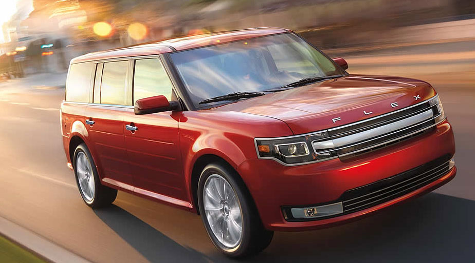 """The Ford Flex seats 7, without being """"yet another amorphous blob of a crossover."""" (Ford.com)"""