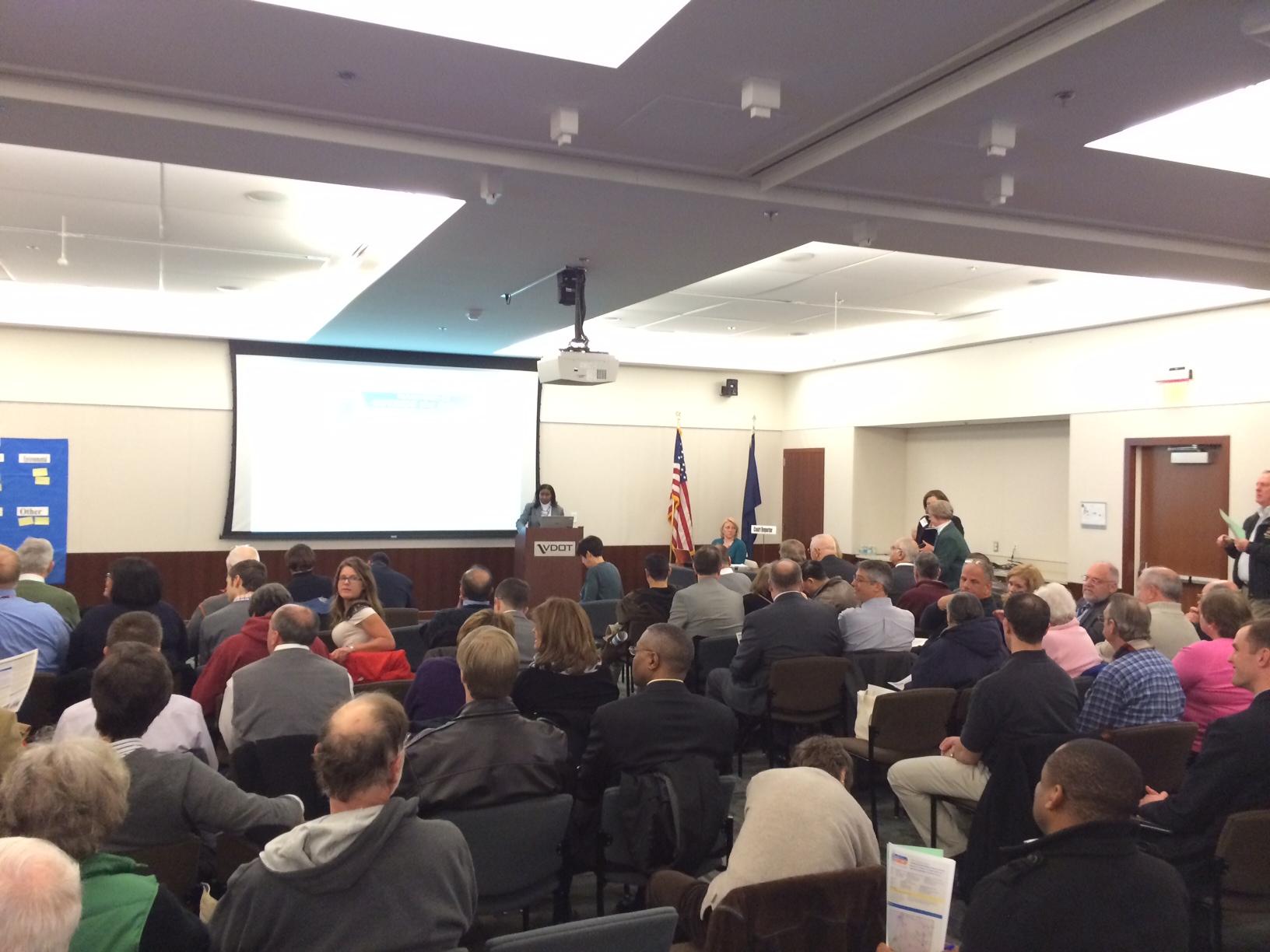 Public meeting held on widening I-66, adding tolls