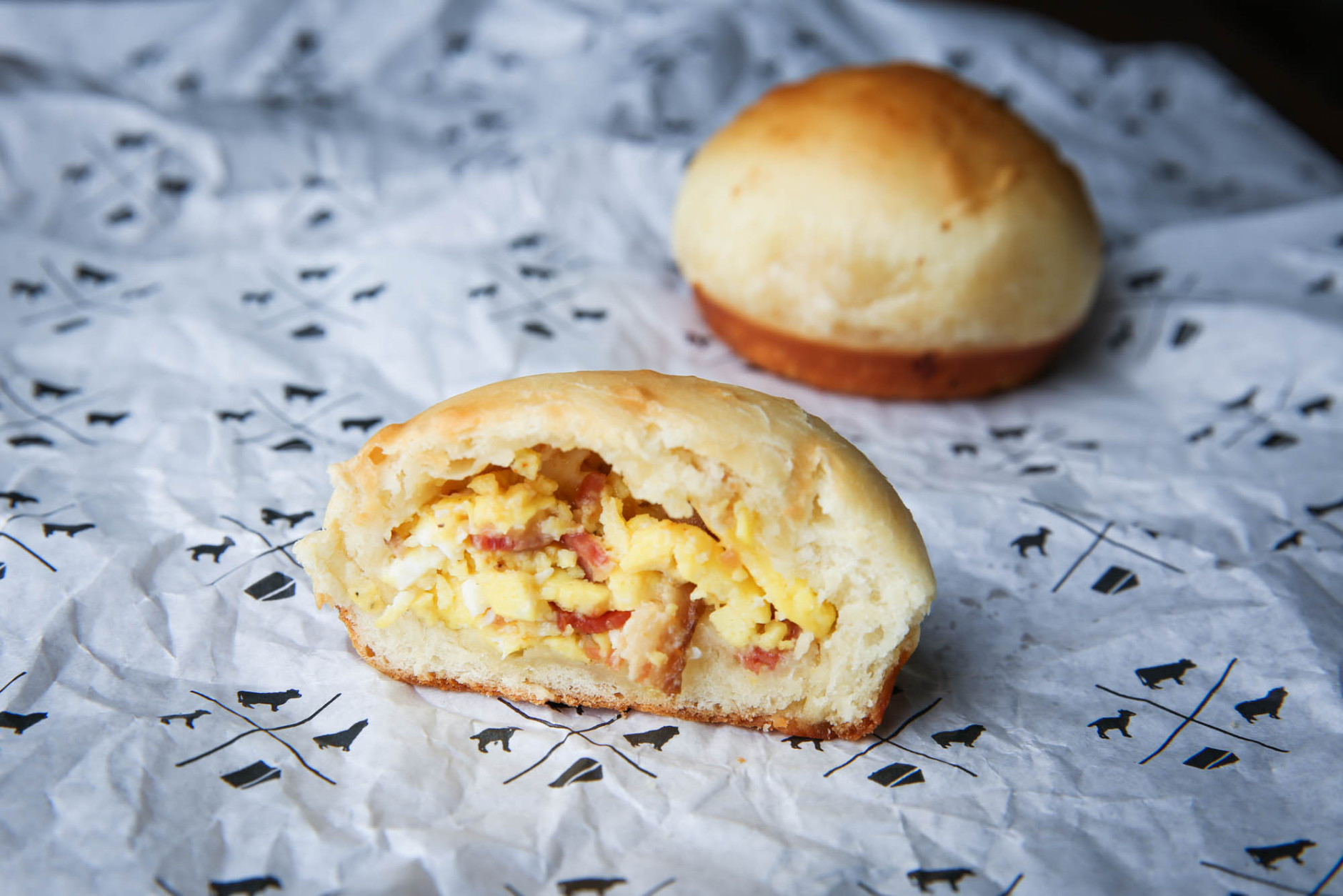 Kolaches have gone through a bit of an evolution in the South. Now, it's common to see them stuffed with meats, cheeses, potatoes and more. (Courtesy Republic Kolache Co.)
