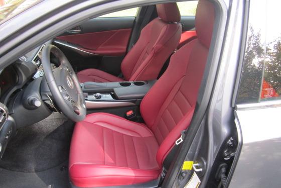 The Lexus IS350 AWD