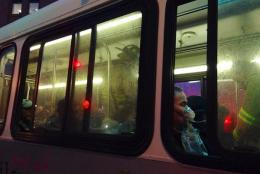 On Monday, a Yellow Line train stopped in a tunnel not too far from the L'Enfant Plaza Metro station. An electrical problem filled the station with smoke.  (WTOP/Megan Cloherty)