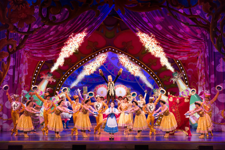 Disneys Beauty And The Beast Hits Warner Theatre
