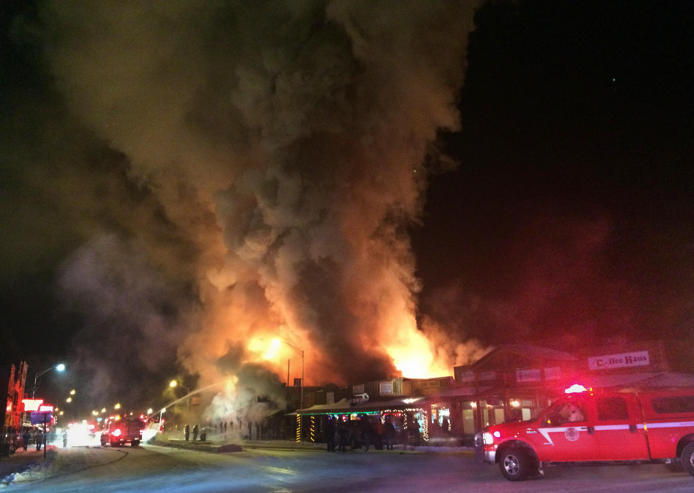 Fire in Dubois