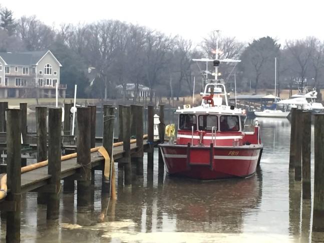 Anne Arundel County Fireboat