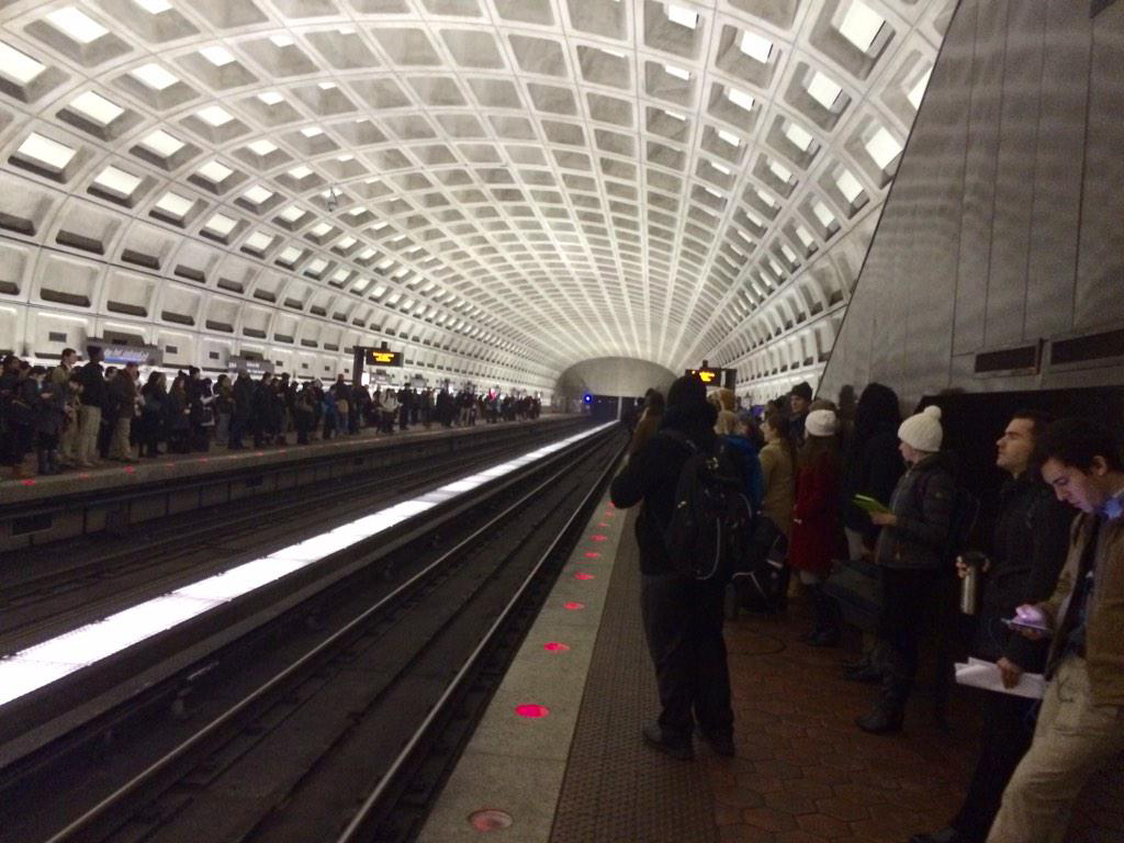Cold, aging cars disrupt commute for angry Metro riders