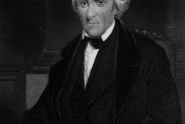 circa 1830:  Andrew Jackson (1767 - 1845) 7th President of the USA. Known as 'Old Hickory'.  Daguerreotype taken from life. Engraving by Alonzo Chappel  (Photo by Hulton Archive/Getty Images)