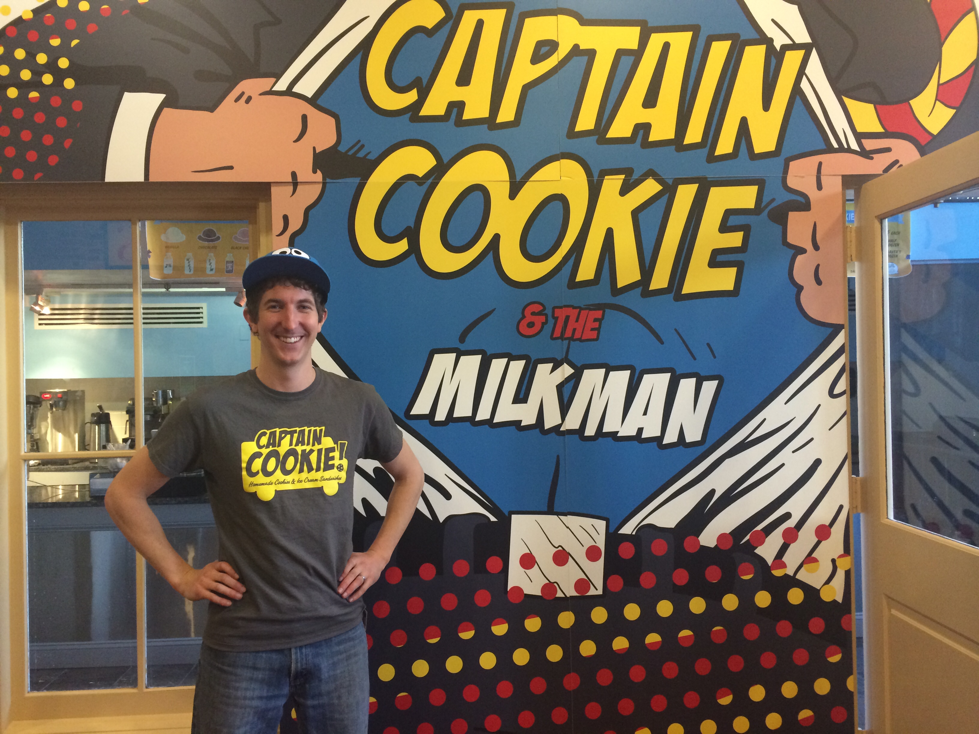 Hungry for a sweet treat? Captain Cookie saves the day with his D.C. shop