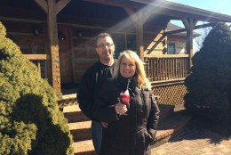 Jay and Jody DeCianno, owners of Quattro Goombas. (WTOP/Rachel Nania)