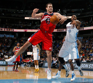 Kris Humphries 11.3 rebounds per 36 minutes leadsd teh Wizards and is 17th -best in the NBA among players with at least 1,000 minutes of playing time. (AP Photo/David Zalubowski)