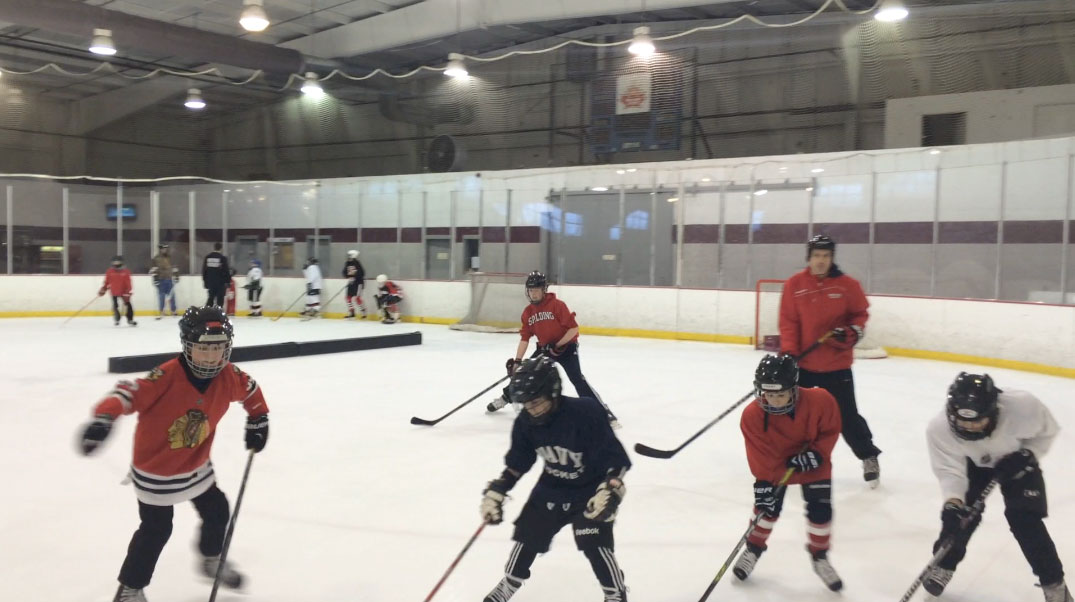 For anxious parents, a chance to try hockey for free