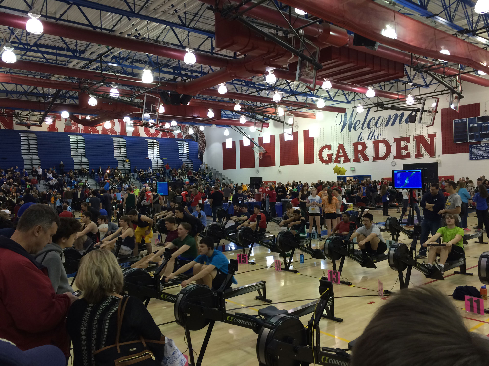 Boats out of water: The 30-year rise of the MidAtlantic Erg Sprints