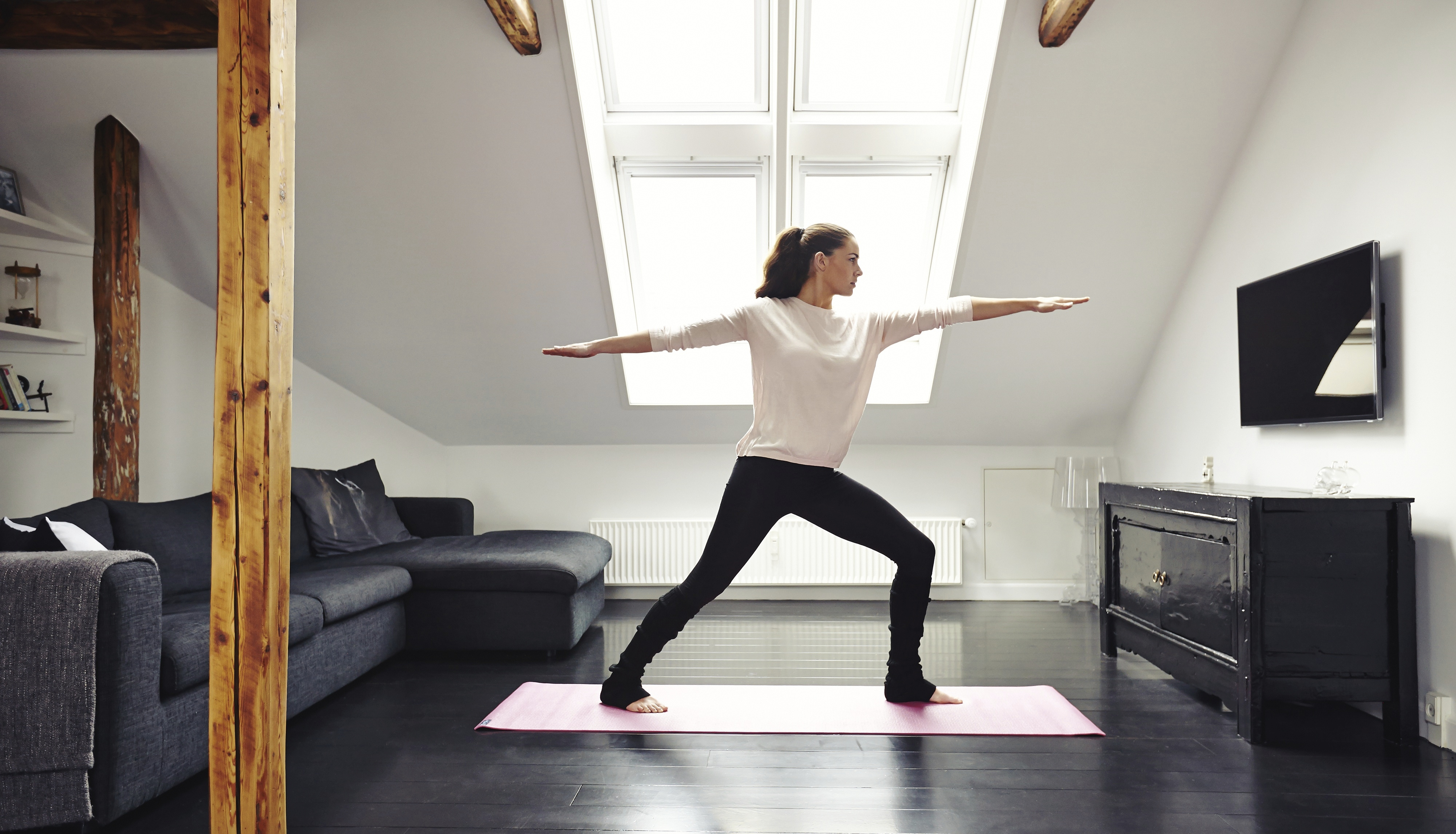 Yoga In Your Living Room D C 39 S On Demand App Offers In