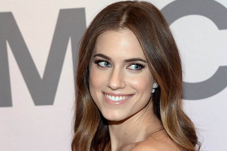 FILE - In this Feb. 18, 2015 file photo, Allison Williams attends the Miranda Eyewear Collection launch event, hosted by Michael Kors in New York. During an appearance on Seth Meyers Wednesday night, Williams defended her father, suspended NBC anchor Brian Williams, as a good man who cares deeply about integrity in journalism.  (Photo by Evan Agostini/Invision/AP)