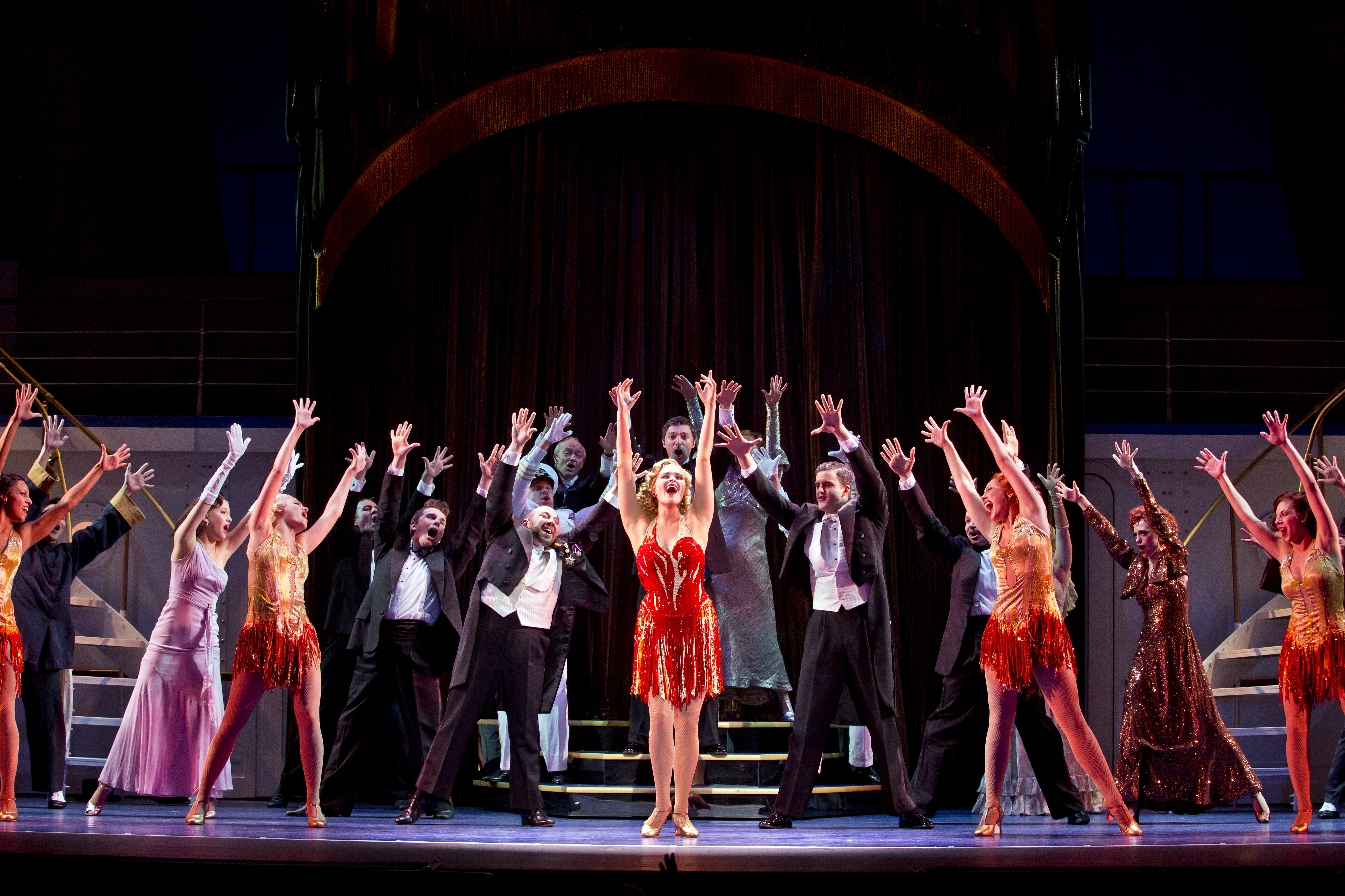 Cole Porter's 'Anything Goes' hits Warner Theatre