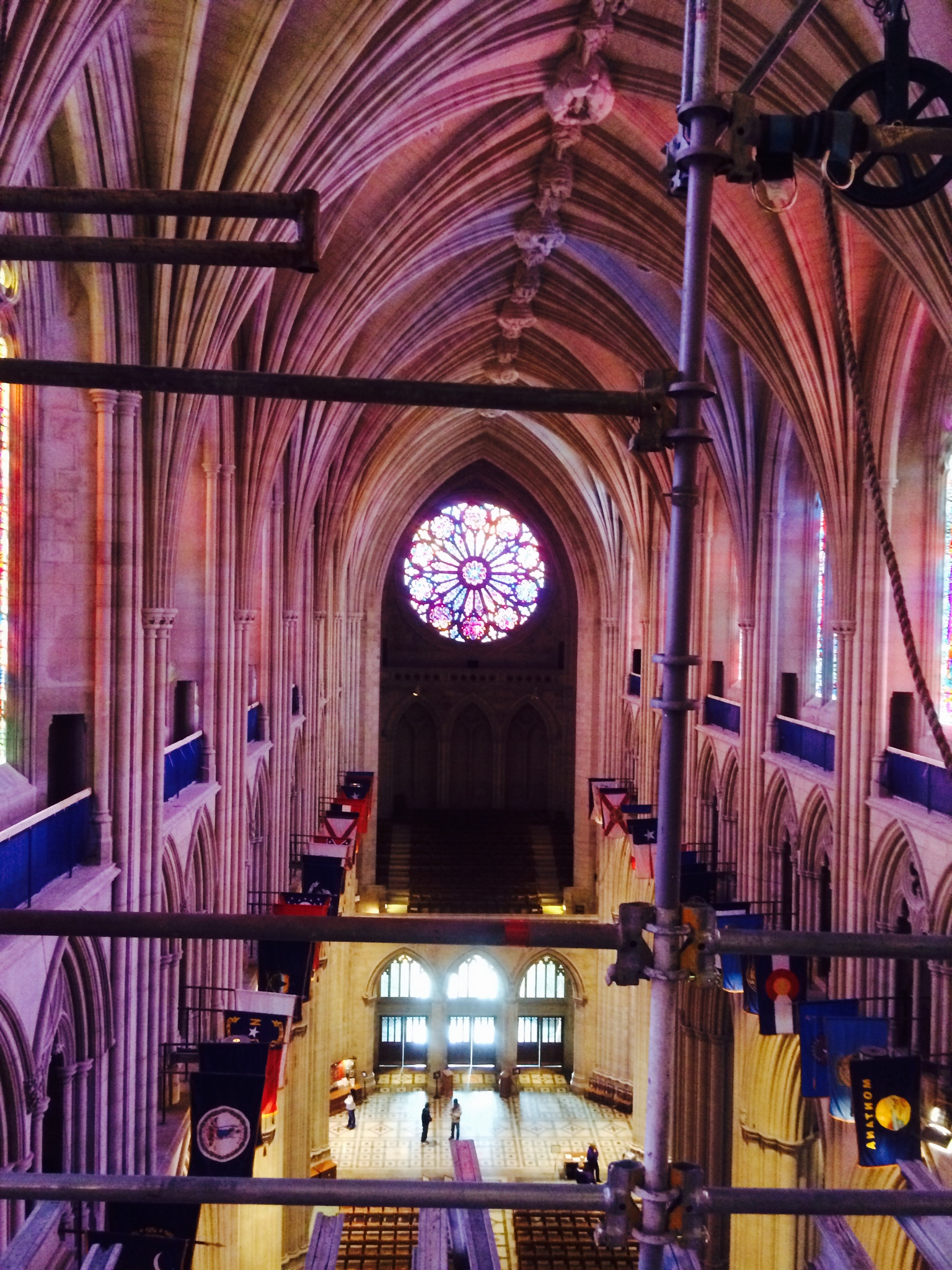 Earthquake repairs wrap up inside National Cathedral (Photos)