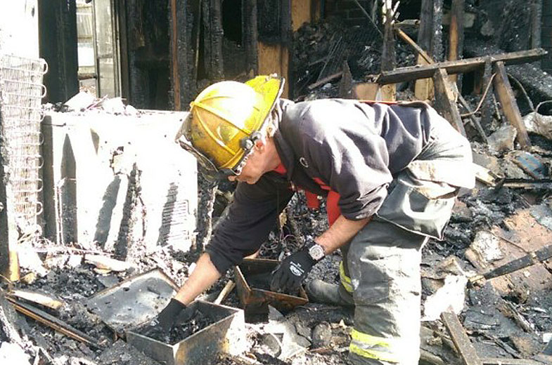 Fund started to help Md. firefighter who lost home