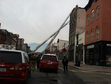 M Street in Georgetown reopens after fire