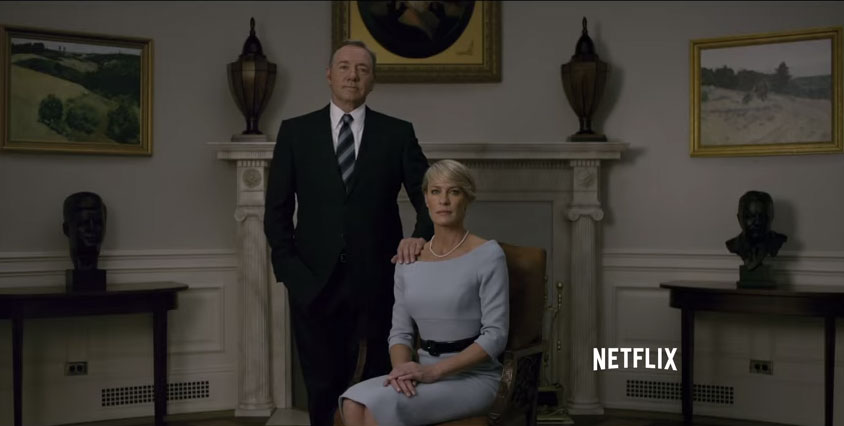 Netflix releases another 'House of Cards' trailer