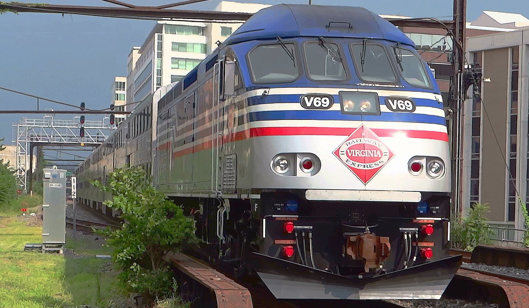 VRE train strikes, kills person