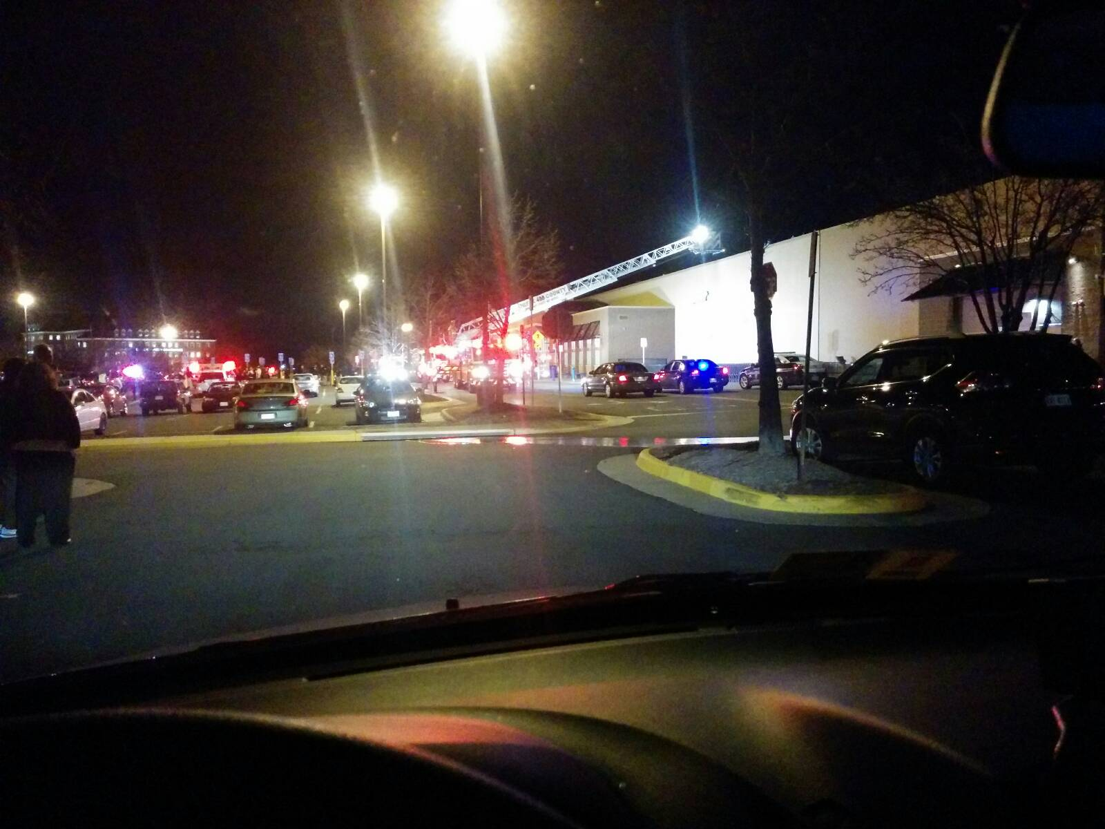 Wal-Mart fire intentionally set