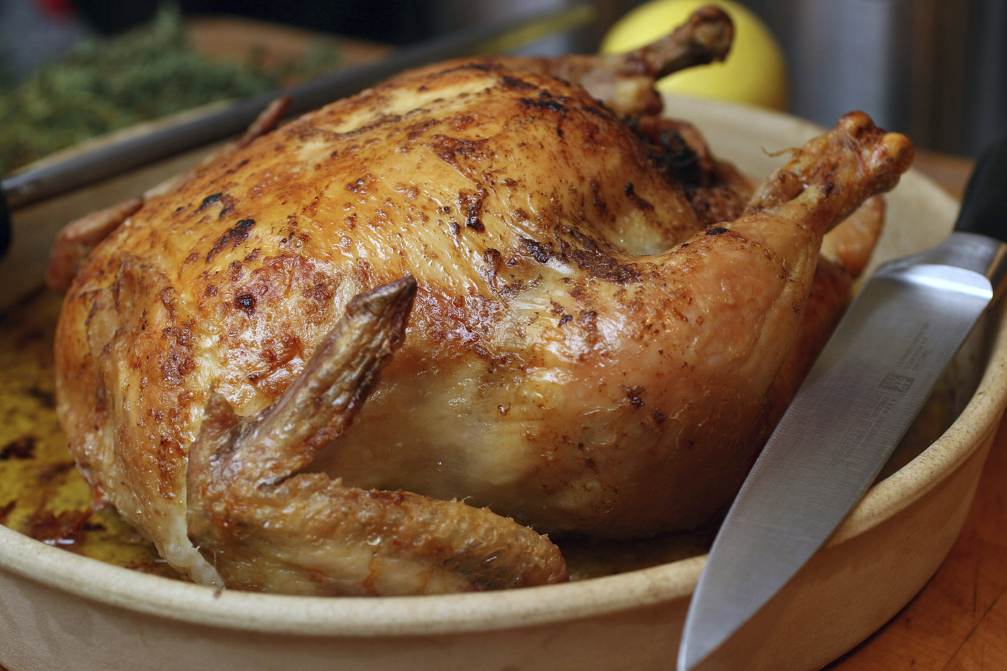 Chef Michel Richard on how to make the perfect roasted chicken: Video, recipe