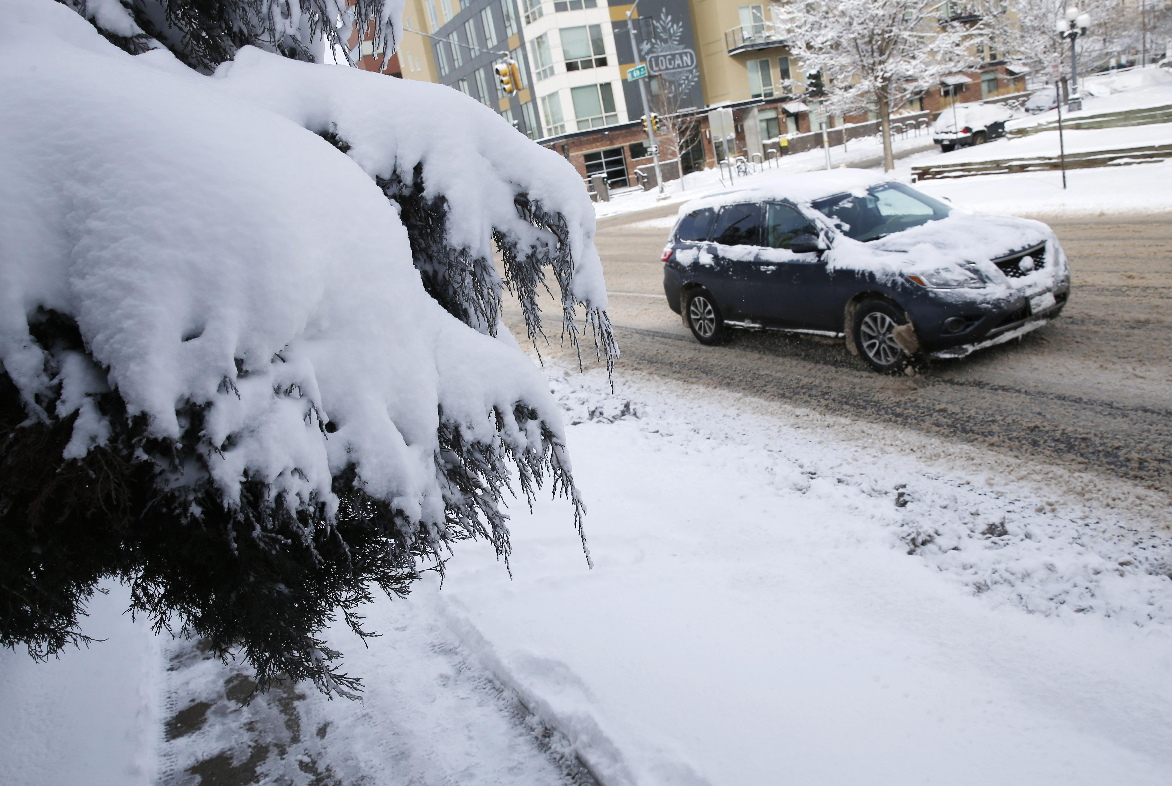 4-wheel drive is not foolproof in snow