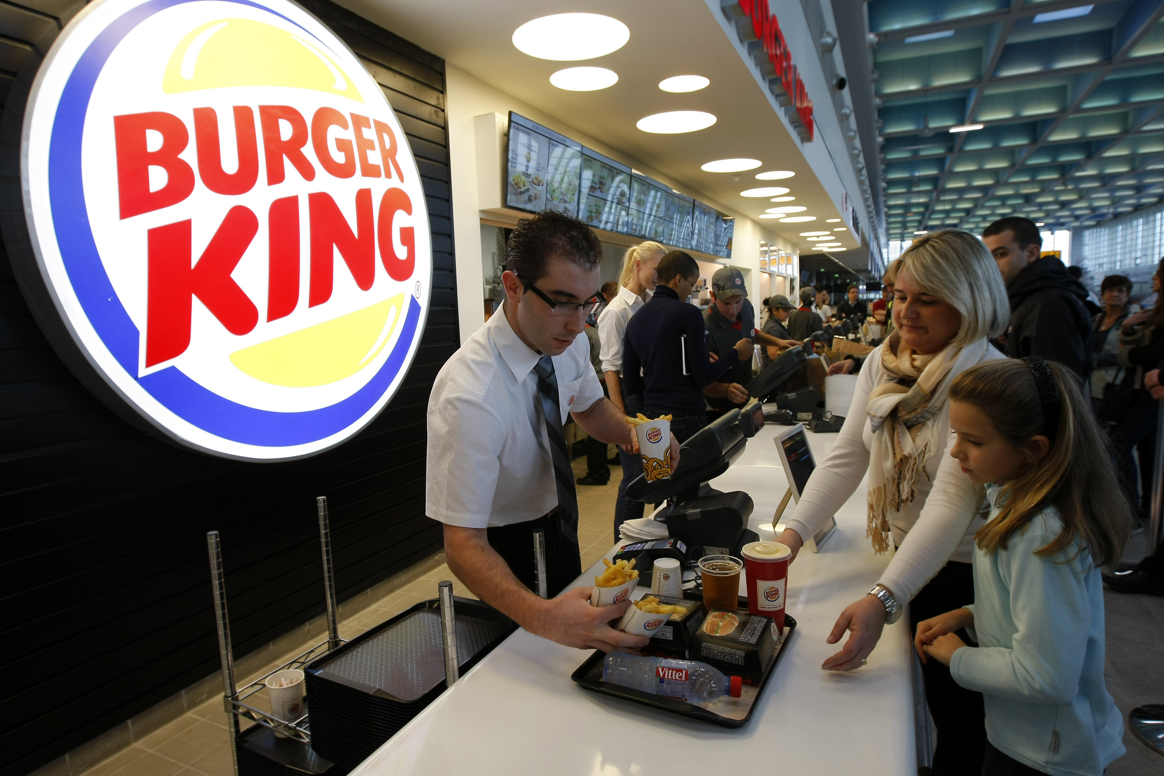 Burger King removes soft drinks from kids' menu