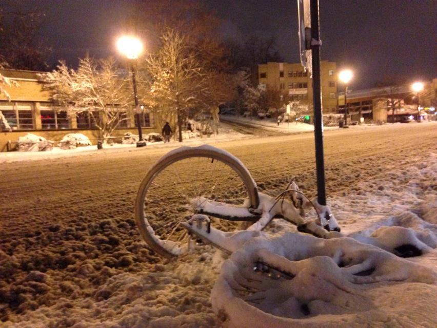 """""""Apparently there was a better way home."""" (WTOP/Megan Cloherty)"""