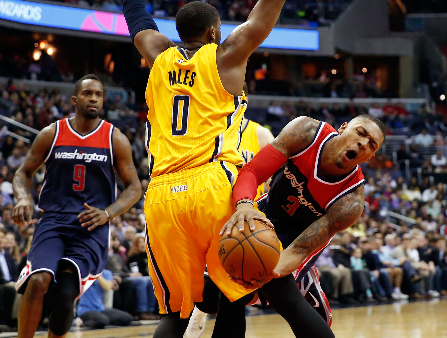 George Hill's layup lifts Pacers over Wizards 103-101