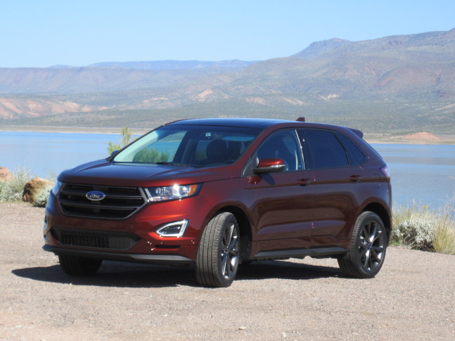 The Redesigned Ford Edge Is Bigger Than The Escape But A Little Smaller Than The Explorer Wtop Mike Parris