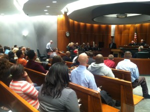 The 10th anniversary of Montgomery County Drug Court graduation ceremonies on November 12, 2014.  (WTOP/Jamie Forzato)