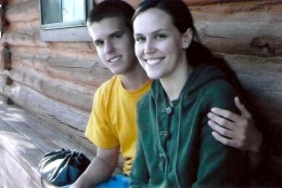 Ginny and Christopher, sister and brother, pictured before Christopher's death. (Courtesy Atwood family)