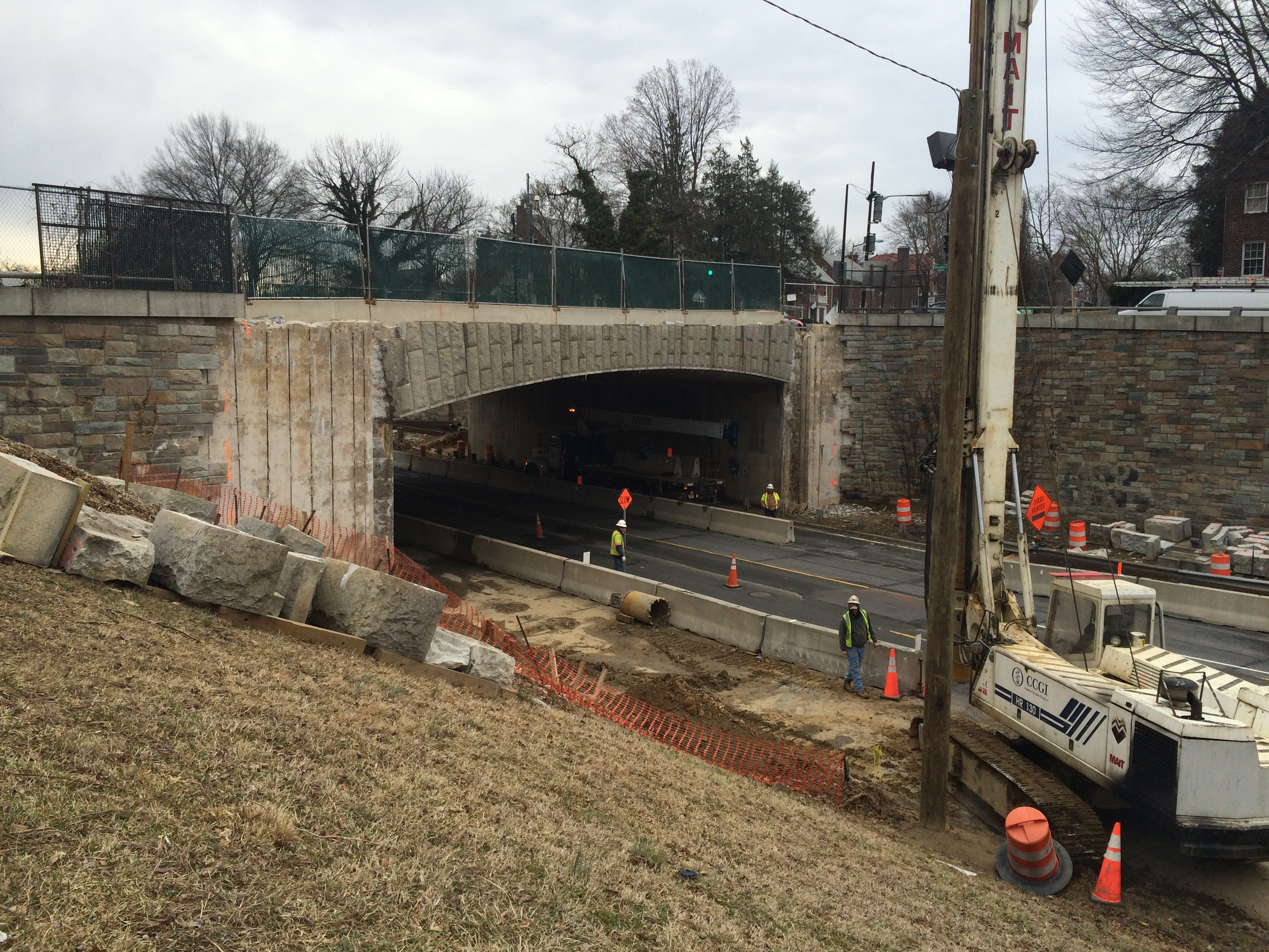 Construction brings delays on 16th Street