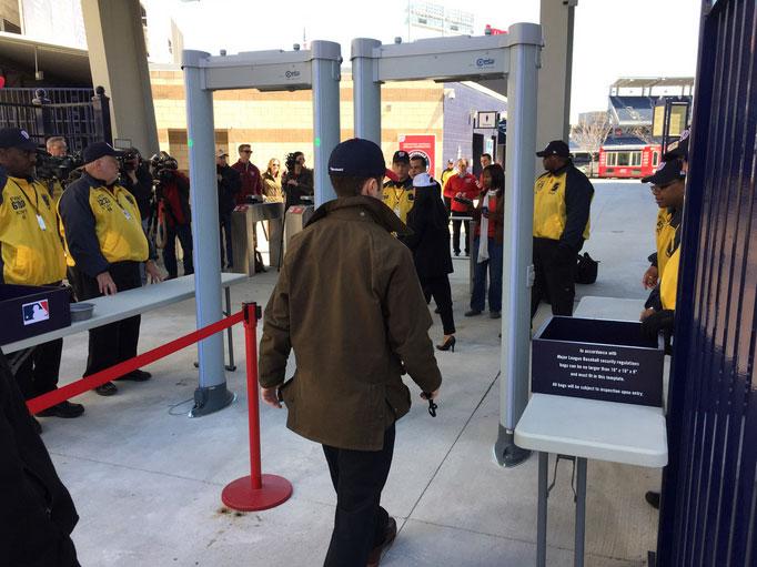 Nationals to start screening fans with metal detectors