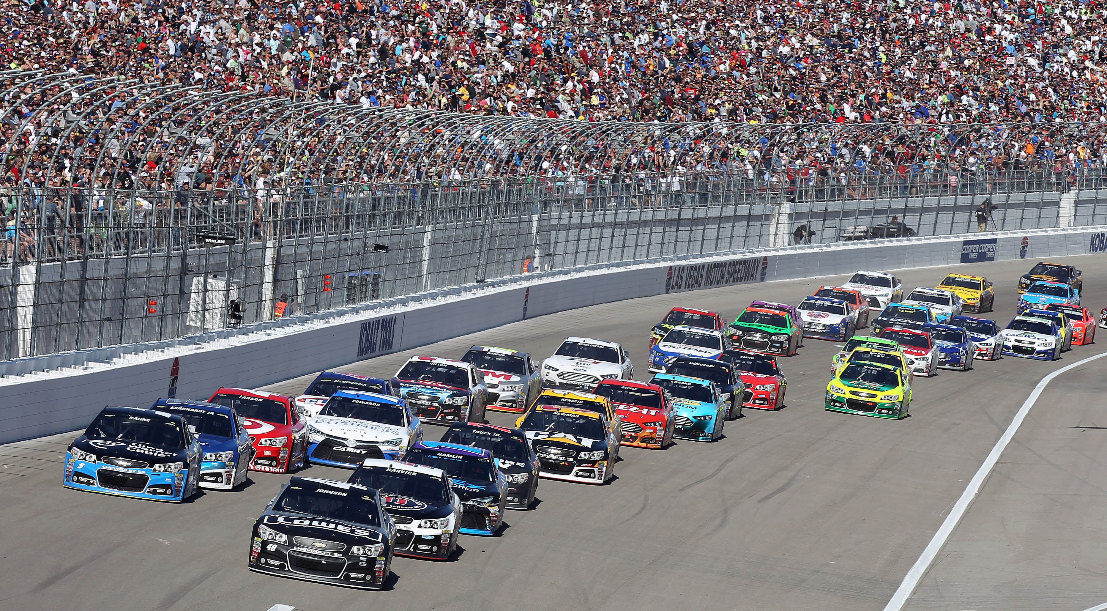 Column too early to tell if nascar set for better racing for Lv motors las vegas