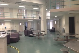The Fairfax County Adult Detention Center is pictured here. (WTOP/Jamie Forzato)
