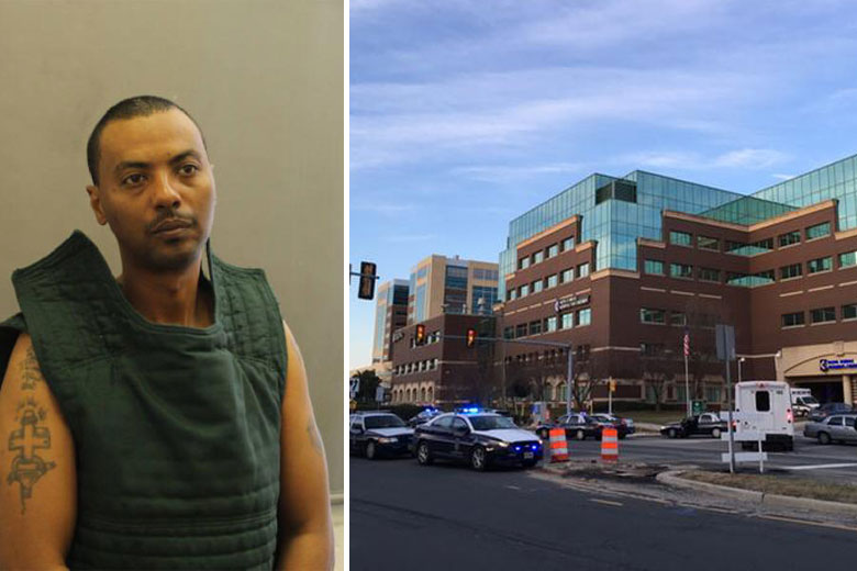 Armed prisoner who escaped from Va. hospital captured
