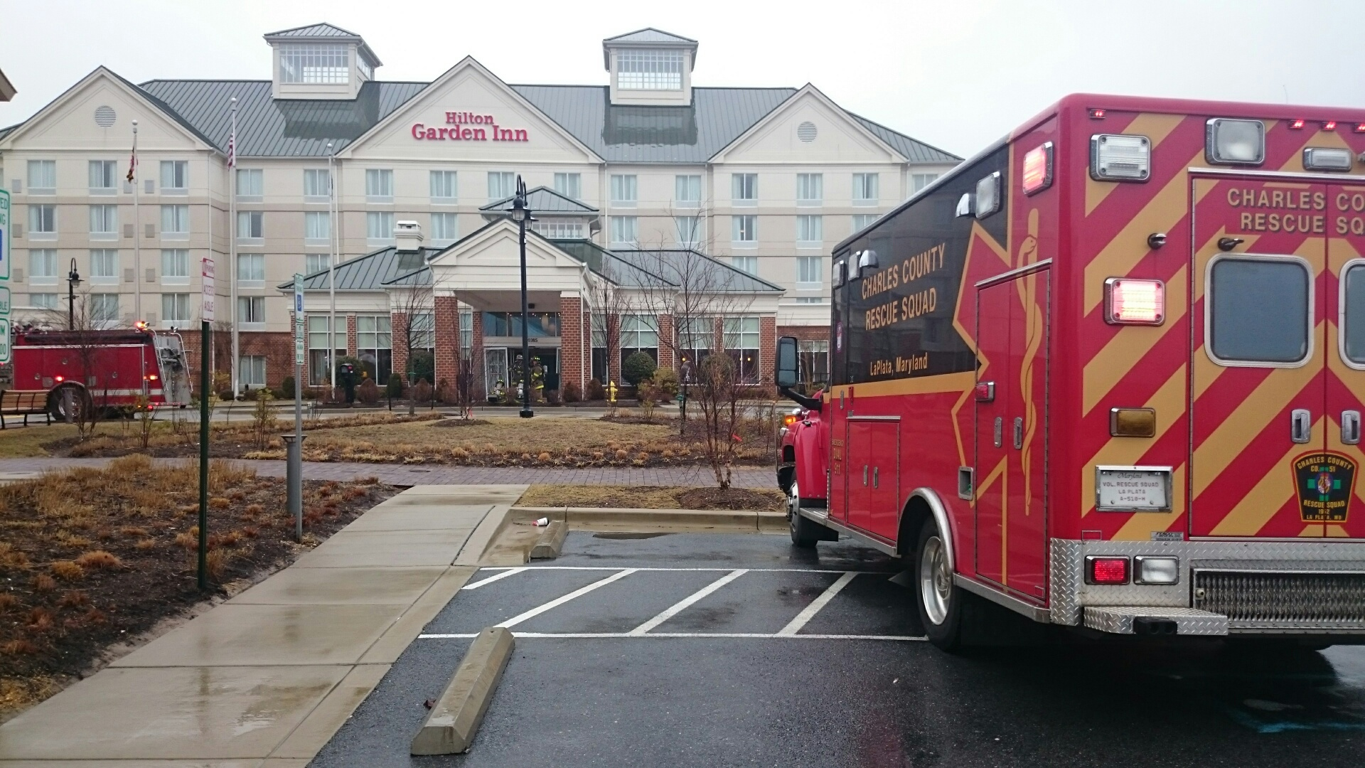 Waldorf hotel evacuated after children get sick in hot tub