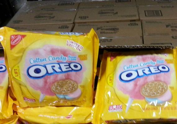 Leak reveals cotton candy-flavored Oreos